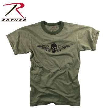 Skull & Wing Slub T-Shirt