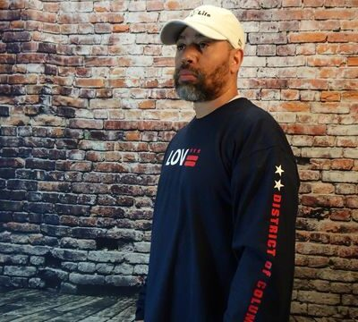 Love DC Flag shirts long sleeve