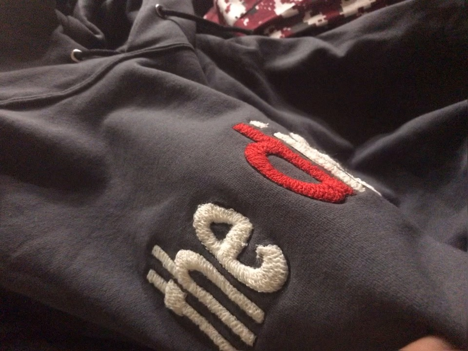 the district Hoodie Chenille